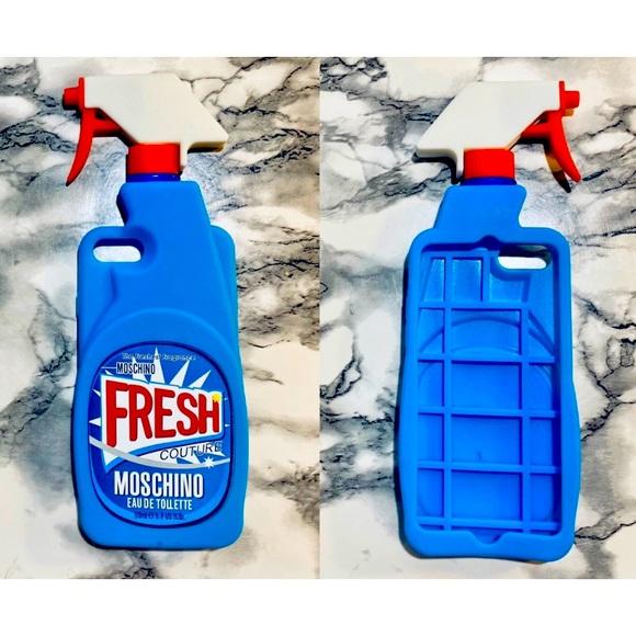 8/8s Moschino Fresh Silicon iPhone Case